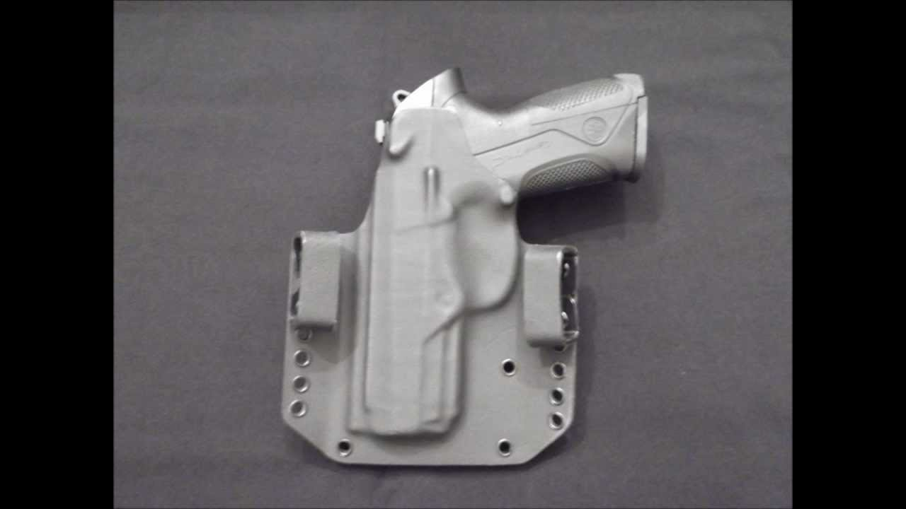 Garage Holsters - Beretta PX4 Storm with double mag-carrier