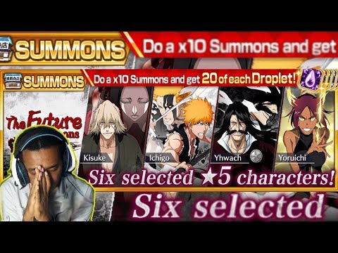 Bleach Brave Souls: The Future Summons Guerra dos Mil Anos! BRILHA!!!!