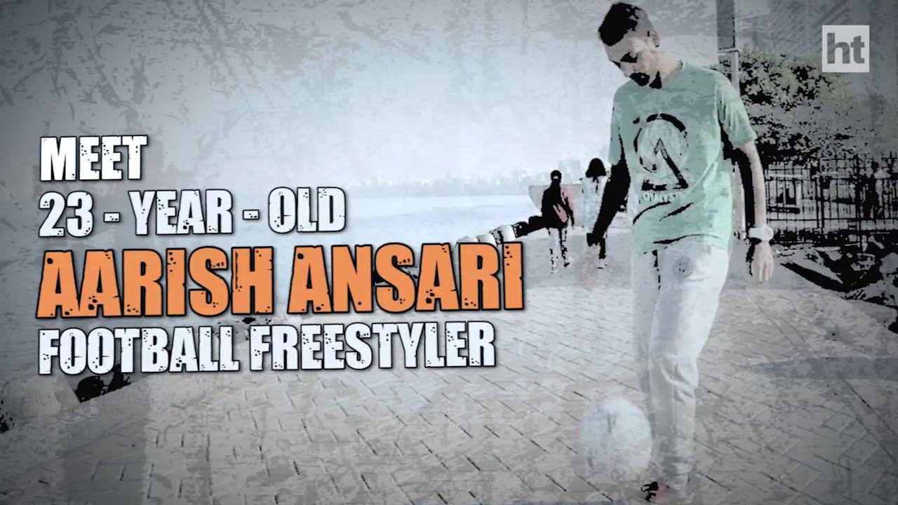 HT Ground Glass   Meet India's freestyle football guru