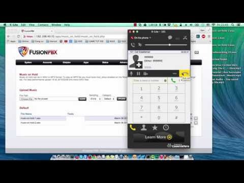 [ Tutorial 7 ] IVR menu, Music on hold, recording fusionpbx freeswitch (p1)