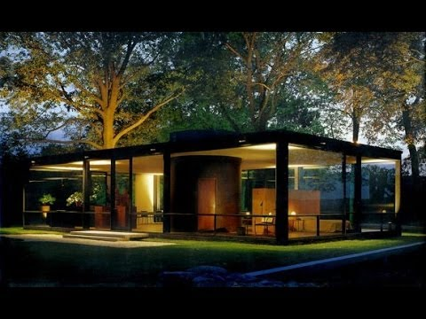 he merican Modern House at Mid-century: Glass House, Farnsworth ... - ^