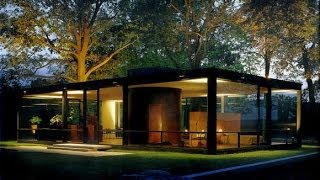 The American Modern House at Mid-century: Glass House, Farnsworth House, and Eames House