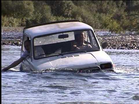 Трейлер Экстрим 4х4 Нива ВАЗ 2121 Бездорожье, река в брод.