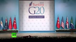 На саммите G20 разгуливают коты!