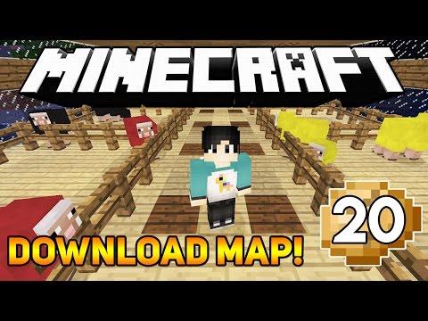 KANDANG DOMBA WARNA WARNI! (DOWNLOAD MAP) - Minecraft Survival Series (20)