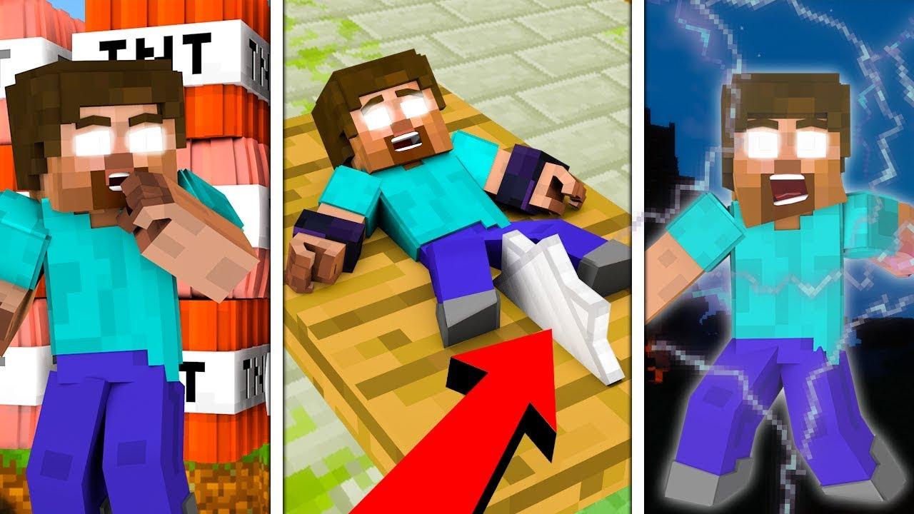 10 SPOSOBÓW NA TORTURY HEROBRINA!!! – Minecraft Doświadczenie #3