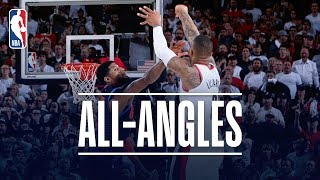 ALL-ANGLES | Damian Lillard's AMAZING Game-Winner!
