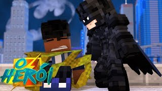 Minecraft : O HERÓI - BATMAN ME SEQUESTROU !! #14