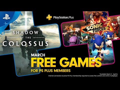 PlayStation Plus - Free Games Lineup March 2020 | PS4