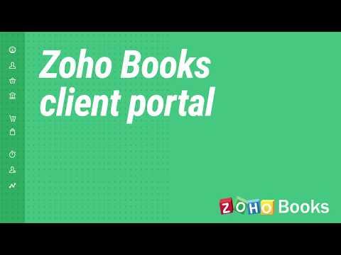 Client Portal   Zoho Books thumbnail