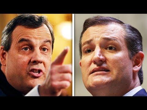 CATFIGHT: Chris Christie vs Ted Cruz
