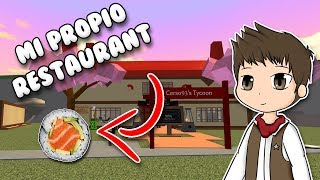 MY OWN SUSHI RESTAURANT | Roblox Sushi Tycoon