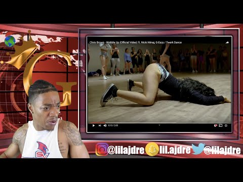 Wobble Up | Nastya Nass | Chris Brown Ft. Nicki Minaj, G-Eazy | Reaction By LilAjDre