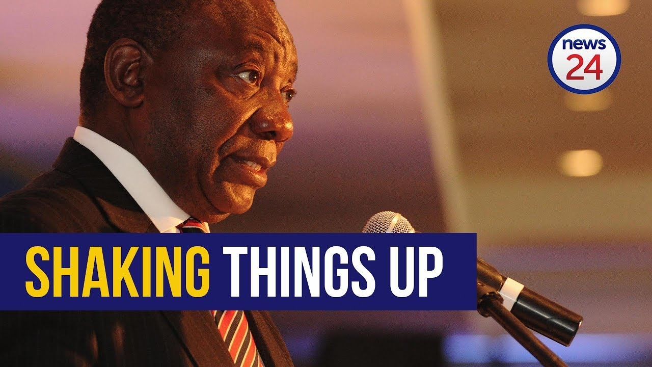 WATCH: Everything you need to know about Ramaphosa's #CabinetReshuffle