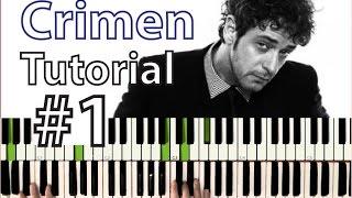 """Como tocar """"Crimen"""" (Gustavo Cerati) - Parte 1/3 - Estrofa y estribillo"""