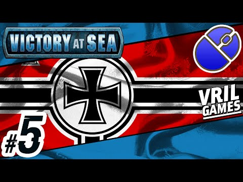 Let's Play Victory at Sea | Kriegsmarine ✠ | Atlantic Campaign #5