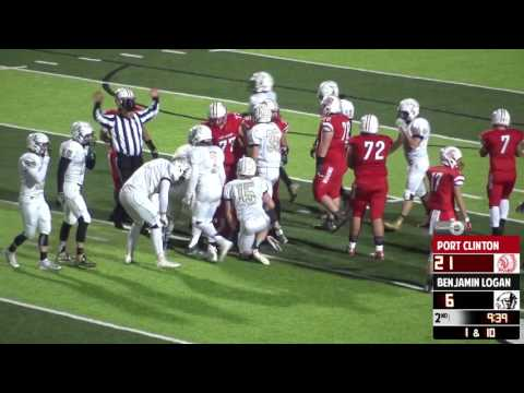 2016Football | Port Clinton Vs Benjamin Logan | Full Game Pl