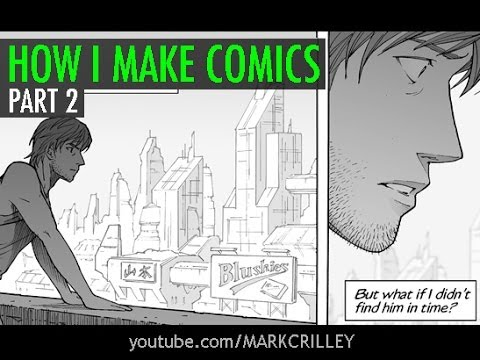 How I Make Comics, Pt. 2 [Inking/Toning/Lettering]