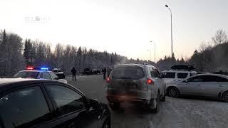Массовое ДТП на Московском тракте