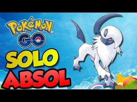 RAID DE ABSOL SOZINHO! - Pokémon Go | Derrotando Raid Boss (Parte 32) thumbnail