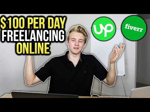 Make $100 PER DAY Freelancing ONLINE (Any Age/Experience)