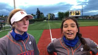 Ridgefield softball places third at 2A district tournament