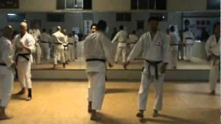 Sensei Nobuaki Kanazawa Advanced Kumite Drill