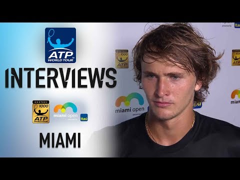 Zverev: 'Isner Is Playing Best Tennis Of His Life'