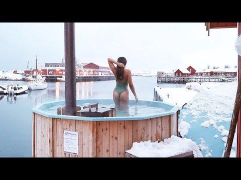 Beautiful LOFOTEN islands in NORWAY!!! (winter activities)