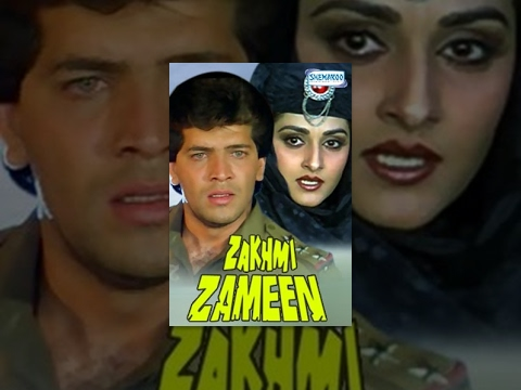 Zakhmi Zameen {1990) - Hindi Full Movie - Jaya Prada - Aditya Pancholi - 90`s Superhit Movie