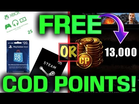 GET FREE UNLIMITED COD POINTS FOR BLACK OPS 3! BO3 FREE COD POINTS!