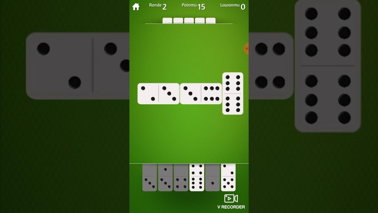 Bermain Game Domino Gaple Gameplay Version Android Youtube