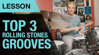 Top 3 Rolling Stones Drum Grooves   Charlie Watts   Drum Lesson