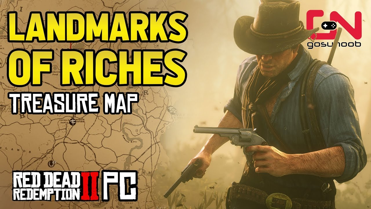 Download Landmarks of Riches Treasure Map Location & Solution - Red Dead Redemption 2 PC
