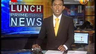 News 1st prime Time Lunch News Sirasa Tv 31st Agust 2015