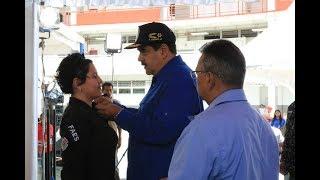 Presidente Maduro en graduación de oficiales de la Policía Nacional Bolivariana