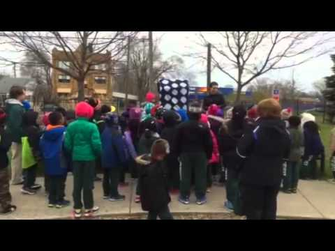 RX for Reading Little Free Library Launch at Gesu School, Detroit Michigan