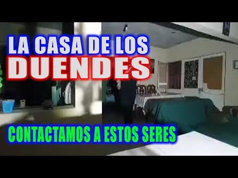 HICIMOS CONTACTO CON LOS DUENDES QUE VIVEN EN ESTA CASA!!