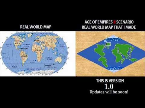 Age of empires ii real world map scenario download youtube gumiabroncs Choice Image