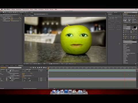 After Effects: Annoying Orange