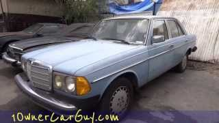 DIY Diesel Fix Tips Mercedes Wont Start Fix How To Tips 240D 300D Glow Plug Relay Fuse
