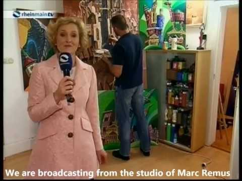 RHEIN-MAIN AKTUELL – Documentary about artist Marc Remus