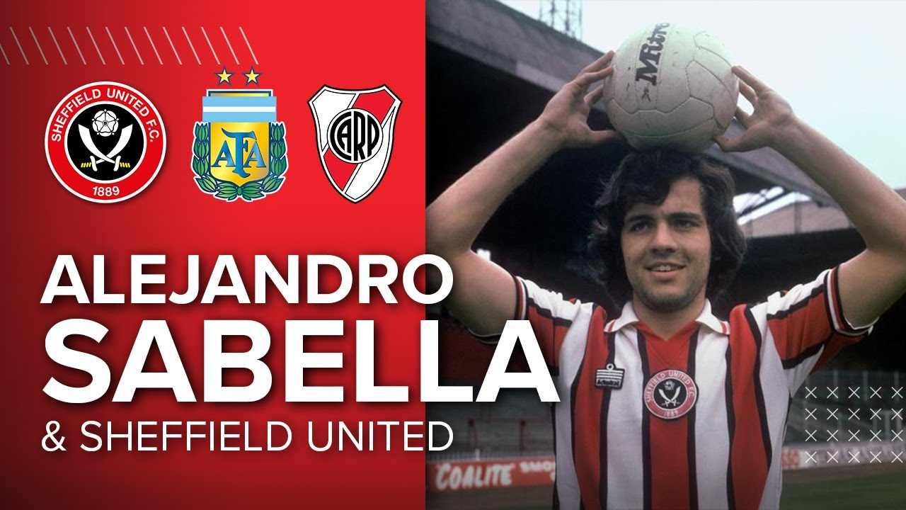The story of Alejandro Sabella and Sheffield United | Diego Maradona, River Plate and Alex.