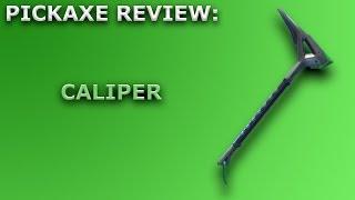 Caliper Pickaxe Review + Sound Showcase! ~ Fortnite Battle Royale