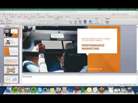Performance Marketing Webinar: Moving From The Retail Channel to Your Direct Website