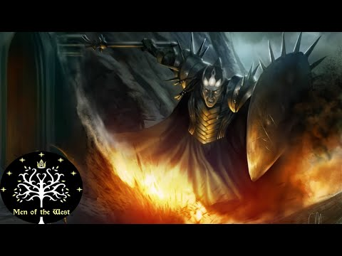 The Duel of Fingolfin and Morgoth Brought to Life