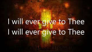 Guide Me, O Thou Great Jehovah- Robin Mark