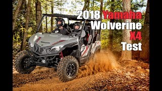 2018 Yamaha Wolverine X4 Test Review