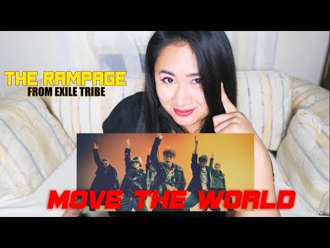 "THE RAMPAGE From EXILE TRIBE ""MOVE THE WORLD"" REACTION VIDEO 
