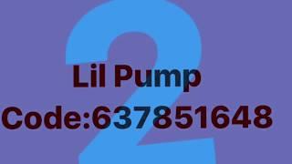 5 Lil Pump codes